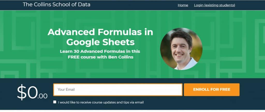Advanced Formulas in Google Sheets